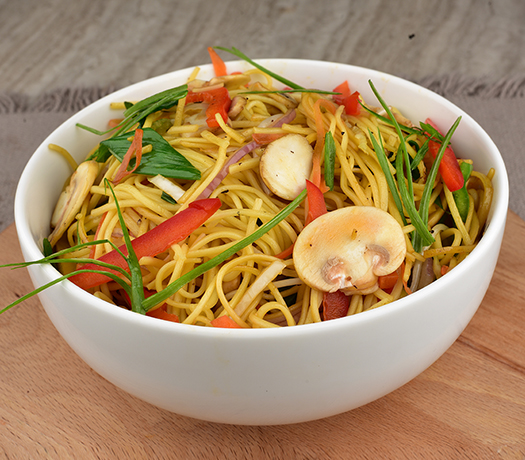 نودلز الخضار - VEGETABLE NOODLES