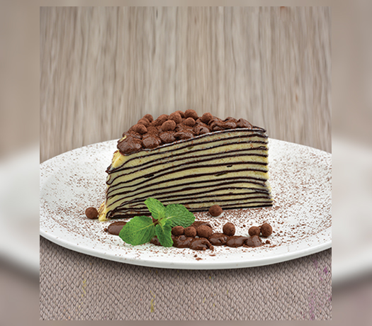 كريب كيك مع نوتلا - GATEAU DE CREPE WITH NUTELLA