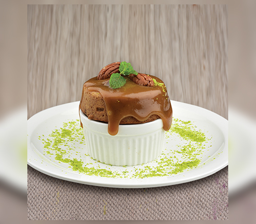 دافئ تمر بودنج - WARM DATE PUDDING