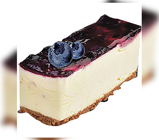 كيك جبن بالتوت ازرق -BLUEBERRY CHEESE CAKE