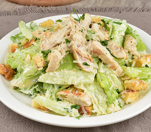 سلطة القيصر دجاج - CAESAR SALAD CHICKEN